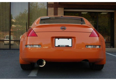 aam aam35e-mfs3 3in single exit exhaust nissan 350z