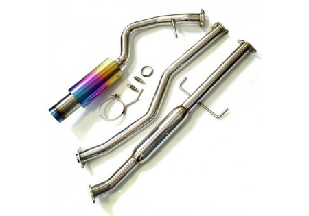 Agency Power Titanium Tip Catback Exhaust System